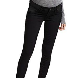 Paige Ultra Skinny Maternity Jeans in Black
